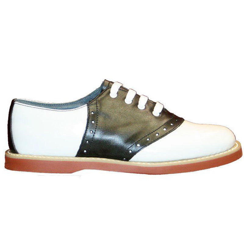 Classic - Children's Black/White Saddle Oxford-Clearance