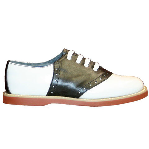 Classic- Ladies Navy/White Saddle Oxfords