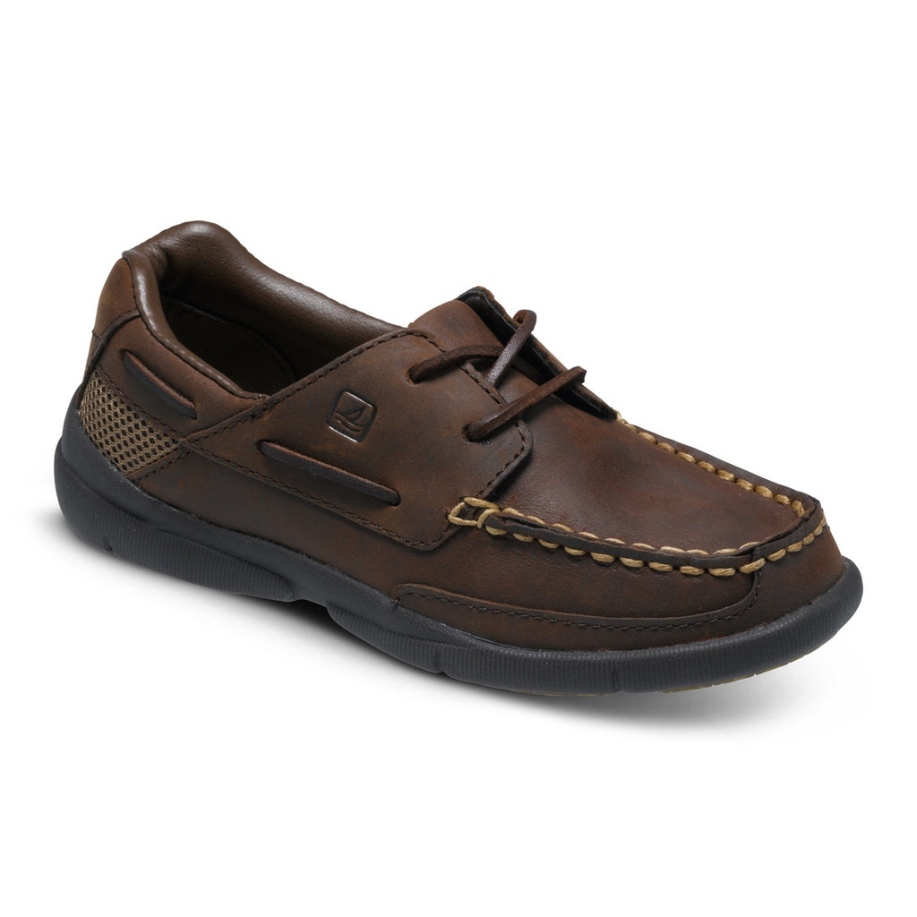 Topsider - Charter-Brown leather boat shoe
