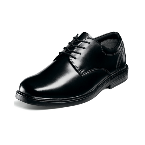 Scholar - Boys Black Leather Oxford