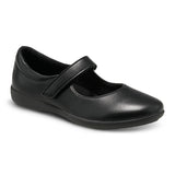 Lexi - Black Leather Mary Jane Shoe
