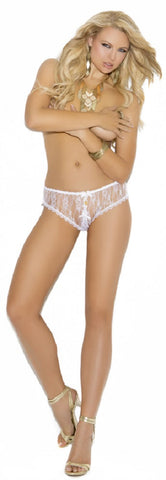 WOMENS CROTCHLESS LACE PANTY SC2320