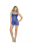 "SlickChix ""Mesh and Lace Babydoll"""