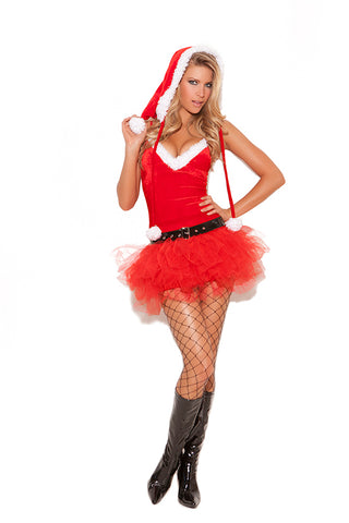 WOMENS 3 PC SANTAS SWEETIE COSTUME SC9062