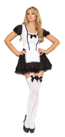"SC9089-SLICKCHIX ""SEXY FRENCH MAID"" 2 PC COSTUME"