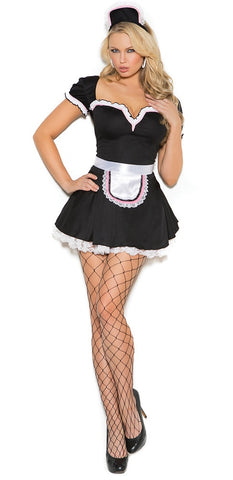 "SC9132-3 PC SLICKCHIX ""MAID TO PLEASE""COSTUME"
