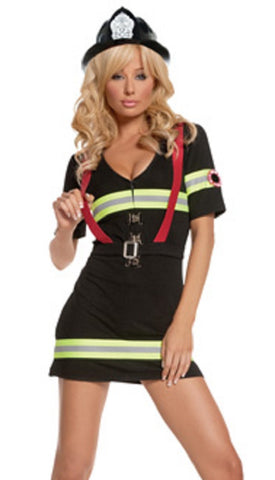 WOEMNS 2 PC MS. BLAZIN HOTT COSTUME SC9514