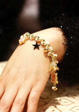 IMITATED CRYSTAL STAR TOWER BRACELET SC-BL9016