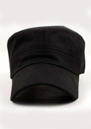 SOLID BUCKLE ARMY STYLE BASEBALL HAT SC-BL9019