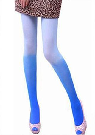 GRADIENT COLOR PANTYHOSE SC-BL9022
