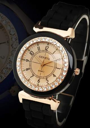 CRYSTAL QUARTZ WRIST WATCH SC-BL9029