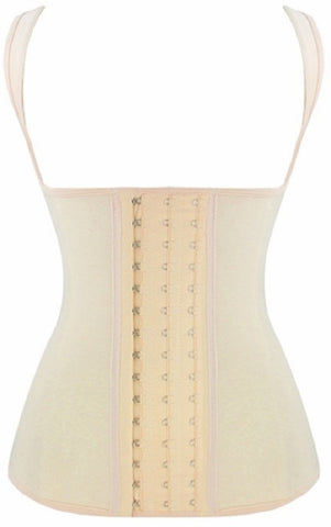 "SLICKCHIX ""NUDE STEEL BONED LATEX"" WAIST CINCHER"
