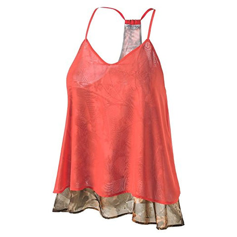 SCCNTRY001-LADIES COUNTRY GIRL CHIFFON TANK