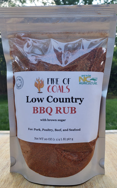 Low Country BBQ Rub with Brown Sugar - Single 20 Oz. Pack