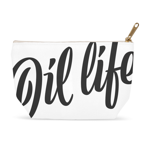 Oil Life Zipper Pouch