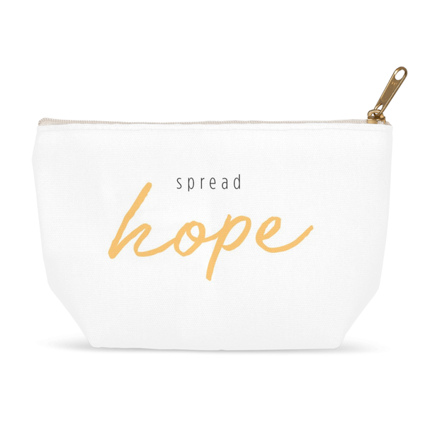 Spread Hope Zipper Pouch