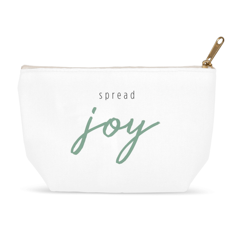 Spread Joy Zipper Pouch