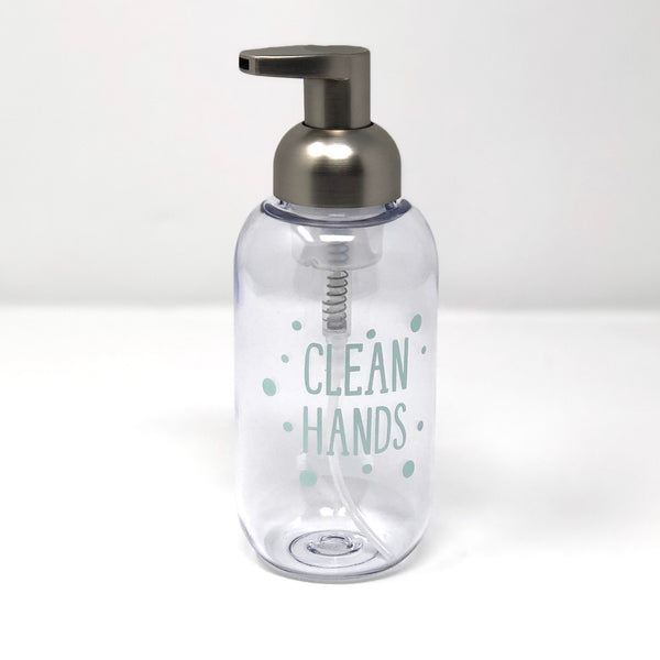 "Vinyl ""Clean Hands"" Decal"