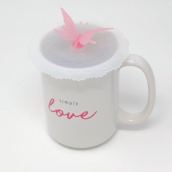 Butterfly Silicone Mug Lid