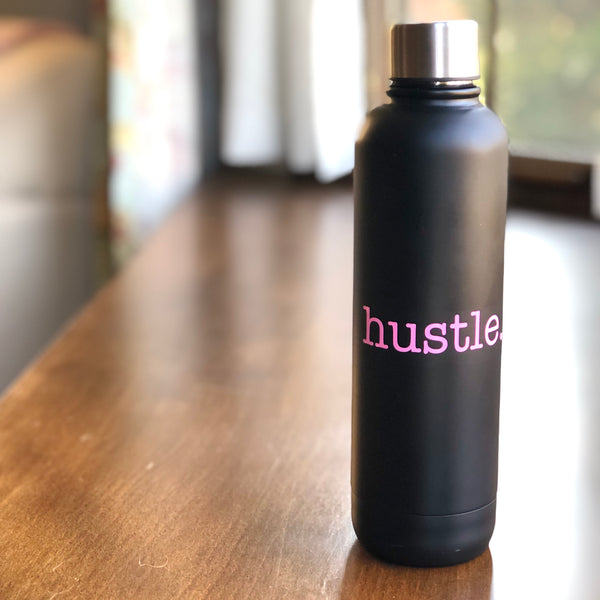 "Vinyl ""hustle"" Decal"