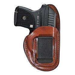 BIANCHI Model 100 Inside Waistband Holster Tan Left Hand SZ12-Glock 17, 22, 36 and S&W 4006