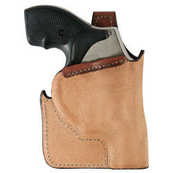 BIANCHI Model 152 Pocket Piece Concealment Holster Tan Right Hand Ruger LCR .38
