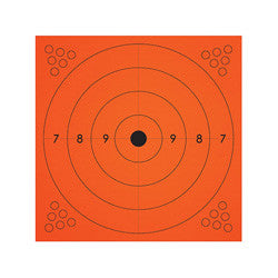 Champion Adhesive Targets, Orange 13 inch x 13 inch