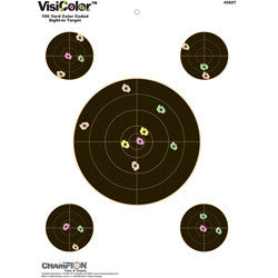 "Champion Visicolor Sight-In 8"" Visicolor Targets For Sale"