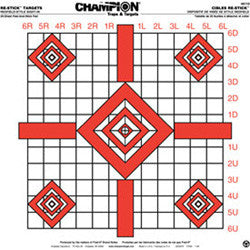 Champion RE-STICK TARGET UPDATED REDFIELD SIGHT-IN