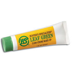 Hunter's Specialties Camo Creme Tube Makeup, 3 oz. Leaf Green