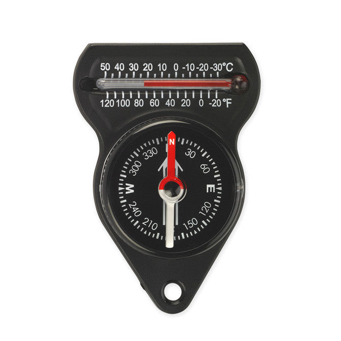 NDUR Mini Compass w/Thermometer
