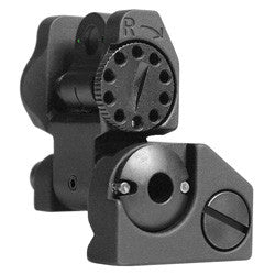 Troy Industries BattleSight Rear Tritium Folding Black