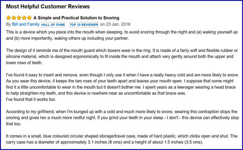 mouthguard review