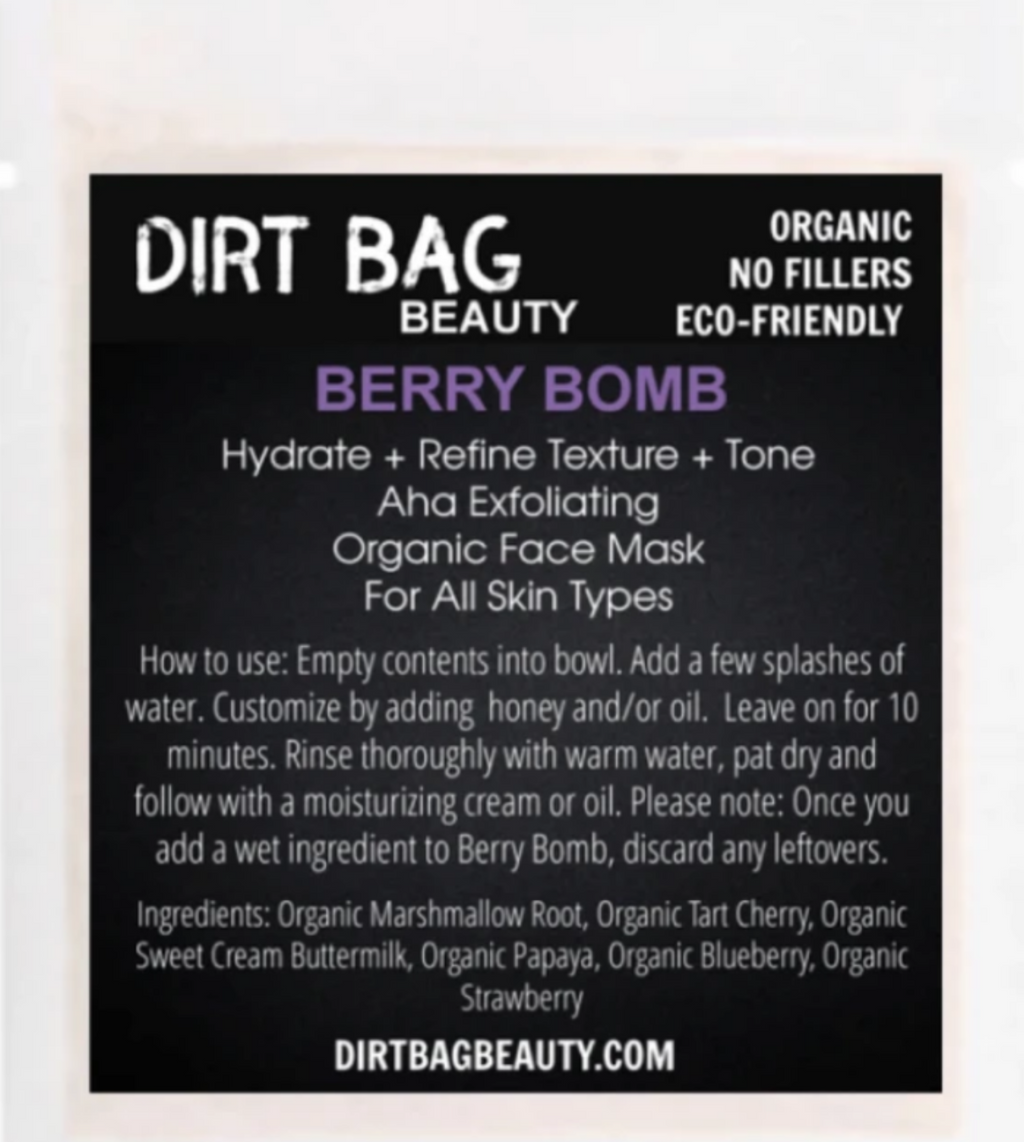 Berry Bomb Face Mask