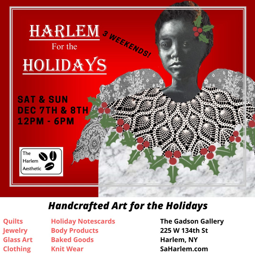Save the Date for  Harlem for the Holidays