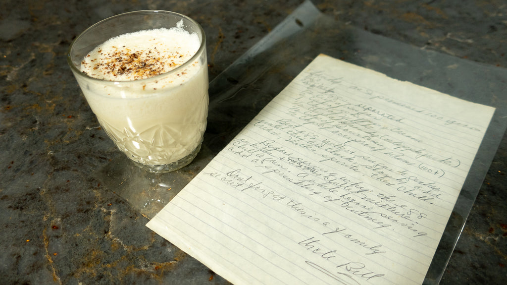 Cooking In My Kitchen: Uncle Bill's Egg Nog
