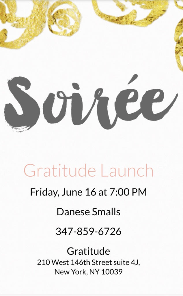 You Are Cordially Invited to a Soirrè