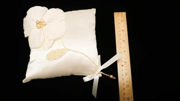 Silk Taffeta Bridal Pillow