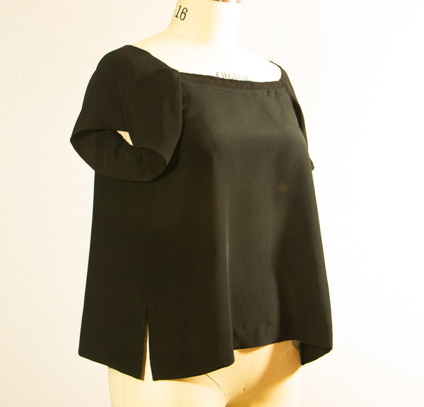Black Silk Topp