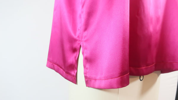Silk Charmuese Pink Tunic