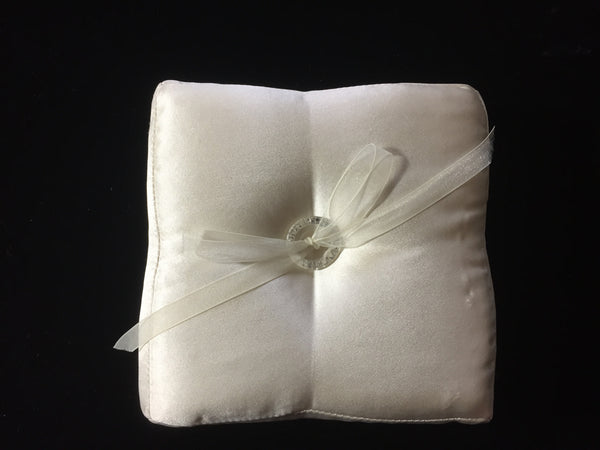 Bridal Pillow Silk Satin Square