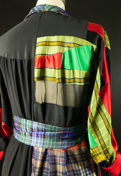 Patchwork Silk Robe
