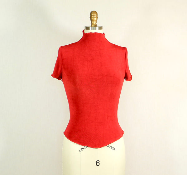 Short Sleeve Stretchy Top