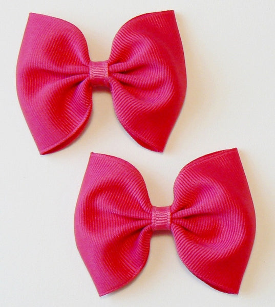 grosgrain hair bow set (2 bows)