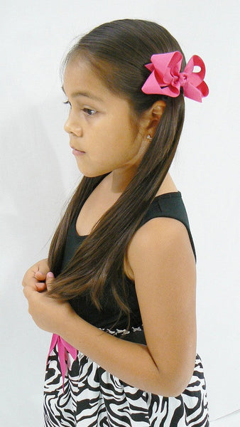 hair bow model (medium bow)