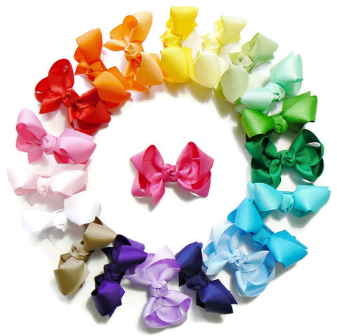 hair bow set (20 bows)