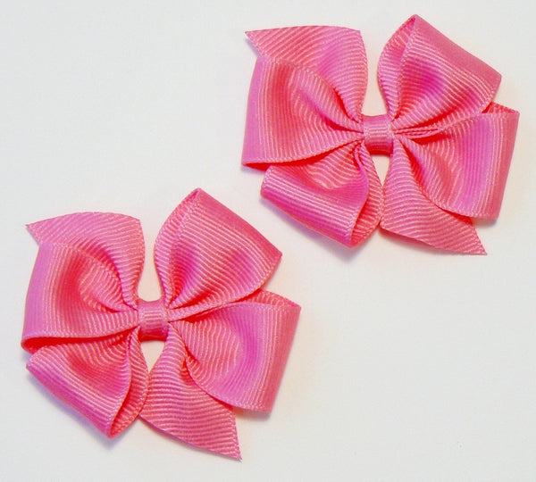 24 Small Hair Bows (without knot) - N2 - SMALL PINKS ~ Wholesale