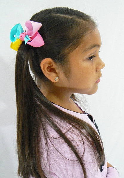 hair bow model (4-colored bows)