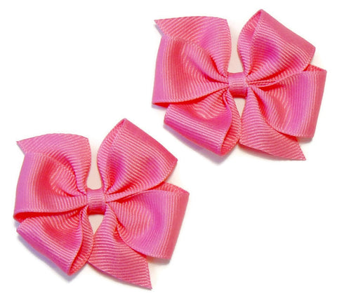 hair bow set (2 bows)