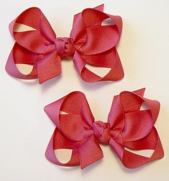 medium hair bow set (2 bows)